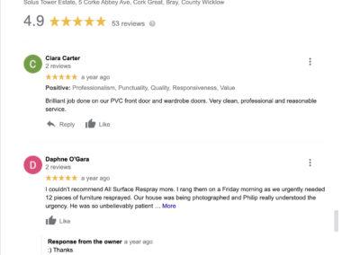 All Surface Respray Reviews